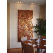 Mutare can design bespoke  artwork using natural products for commercial or domestic  premises.
