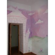 Mutare's artists can transform your childs bedroom into a princess's castle