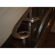 Mutare's designs include  bespoke steel stair balustrades.