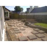 Mutare's design incorporates existing paving slabs, creating a unique design.