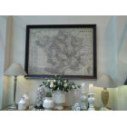 Medford Landscape Framed Map France