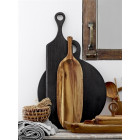 Oval Acacia Wooden Serving Tray