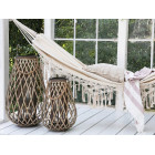 Neutral Hammock with Fringes
