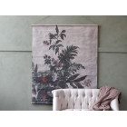 Large French Floral Leaf Hanging Canvas