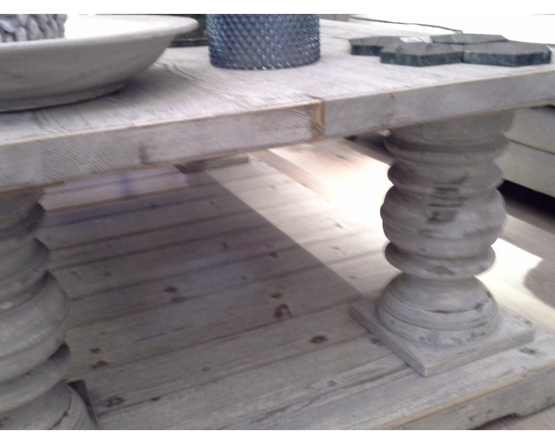 Distressed Gray Coffee Table.Distressed Grey Coffee Table Hipenmoeder Nl