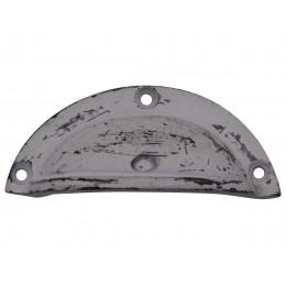 Handmade Distressed Antique Grey Metal Pull Handle