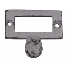 Handmade Distressed Metal Antique Grey Pull Handle