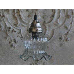 Handmade Tulip Lamp Glass Ceiling Rossette