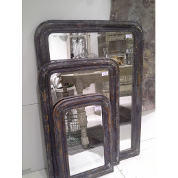 High Quality Antique Style Silver Edge Mirror