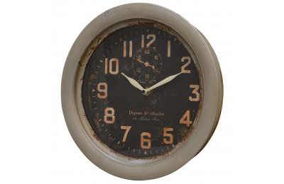 High Quality 'Dupont and Allardet Paris 1879' Wide Frame French Antique Style Clock