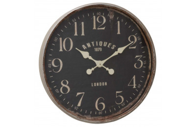 High Quality Large Round 'Antiques 1870 London' Wall Clock